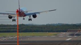 Samolotowy l?dowanie w Dusseldorf zbiory