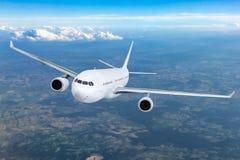 Samolotowy latający pojęcie Zdjęcia Royalty Free