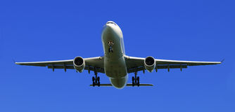 samolotowy latanie Obrazy Royalty Free