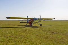 Samolotowy lądowanie Zdjęcie Royalty Free