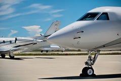 samolotowy lotniskowy łęk Fotografia Stock