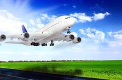 samolotowy lotniskowy nowożytny obrazy stock