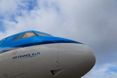 samolotowy lotniskowy Schiphol Zdjęcia Stock