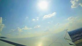 Samolotowy narządzanie odlot zdjęcie wideo