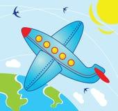 samolotowy niebo ilustracja wektor