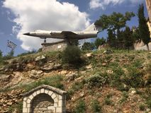 Samolotowy pomnik Fotografia Royalty Free