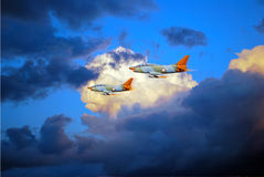 Samolotowy przedstawienie Fotografia Royalty Free