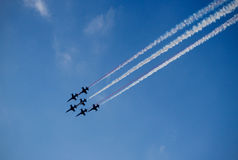 Samolotowy przedstawienie Zdjęcia Royalty Free
