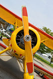 samolotowy rocznik Zdjęcie Stock