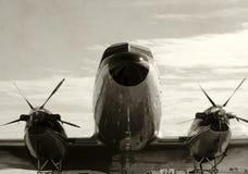 samolotowy stary śmigło Obraz Stock