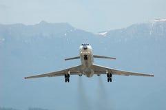 samolotowy tła góry start Zdjęcie Stock