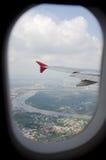 samolotowy widok Fotografia Royalty Free
