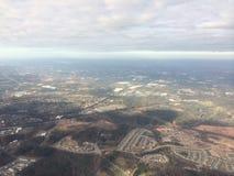 Samolotowy widok Zdjęcia Stock