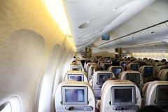 samolotowy wnętrze Zdjęcie Royalty Free