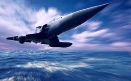 samolotowy wojskowy Fotografia Royalty Free