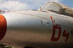 samolotu blisko szczegółu wojskowy przestarzały Zdjęcie Royalty Free