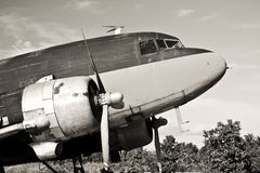 samolotu c47 rocznik Zdjęcie Stock