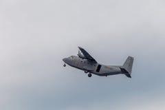 Samolotu CASA C-212 Obraz Stock
