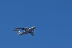 Samolotu długi radiowy wykrywanie radarem i zarządzanie A-50 Fotografia Royalty Free