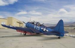 Samolotu Douglass SBD Dauntless zdjęcia royalty free