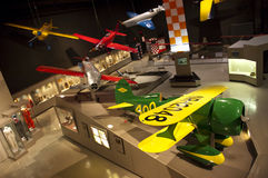 samolotu eaa eksperymentalny muzealny ohskosh Wisconsin Obraz Stock