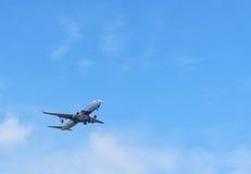 Samolotu lądowanie Obrazy Royalty Free