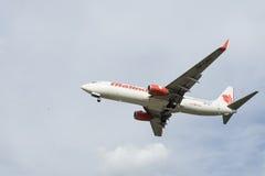 Samolotu lądowanie Fotografia Stock