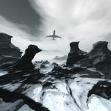 samolotu latanie Obrazy Stock