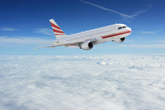 samolotu niebo Zdjęcia Royalty Free