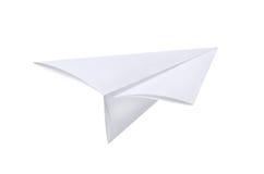 samolotu papier Obrazy Royalty Free