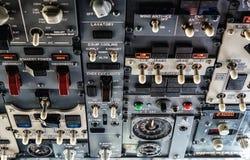 Samolotu pulpit operatora Obrazy Royalty Free