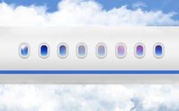 Samolotu s Porthole Zdjęcia Royalty Free