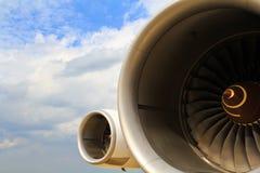 samolotu silnik obraz stock