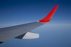 samolotu skrzydło Zdjęcia Royalty Free