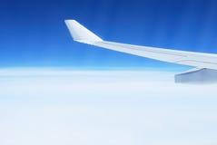 samolotu skrzydło Zdjęcie Royalty Free