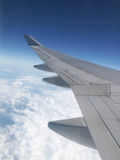 samolotu skrzydło Obraz Stock
