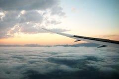 Samolotu skrzydło Zdjęcie Stock