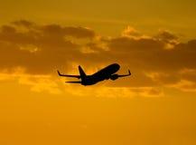 Samolotu start Fotografia Royalty Free