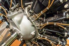 Samolotu stary silnik Zdjęcie Stock
