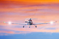 samolotu target511_0_ Zdjęcia Royalty Free