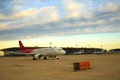 Samolotu taxiing Zdjęcie Royalty Free