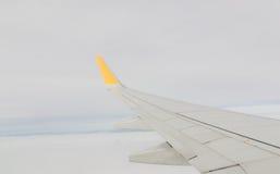 samolotu wysokości błękitny lota wysoki nieb skrzydło Fotografia Royalty Free