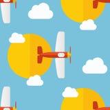 Samolotu wzór Zdjęcie Royalty Free