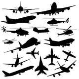 Samoloty Fotografia Royalty Free