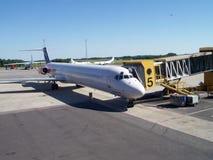 samoloty lotniskowych Obraz Royalty Free