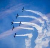 Samoloty na niebie Sydney Fotografia Royalty Free