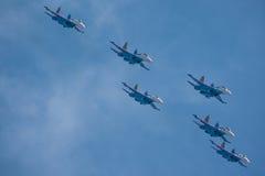 samoloty na pokazie lotniczym obraz stock