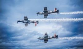 Samoloty przy Meksykańskim pokazem lotniczym Obrazy Stock