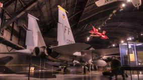 Samoloty przy USAF muzeum, Dayton, Ohio Zdjęcie Stock