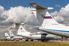 Samoloty Rosyjska siły powietrzne obraz stock